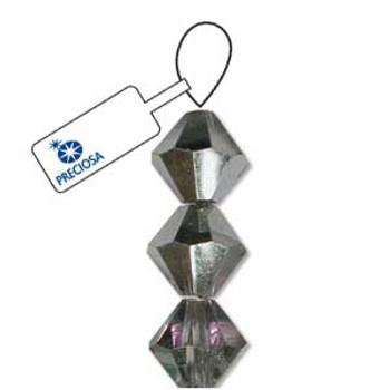 Crystal Bicone 4mm Crystal Vitrail Light 30 Beads Preciosa Czech Crystal