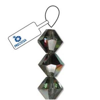 Crystal Bicone 4mm Crystal Vt Med 2X 30 Beads Preciosa Czech Crystal