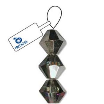Crystal Bicone 4mm Crystal Volcano 30 Beads Preciosa Czech Crystal