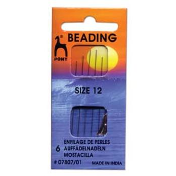 Pony Beading Needle 6 size 12