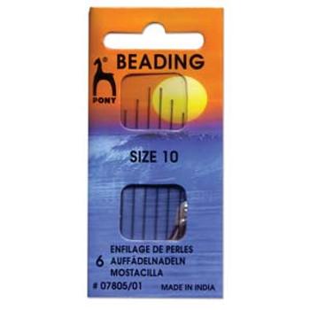 Pony Beading Needle 6 size 10