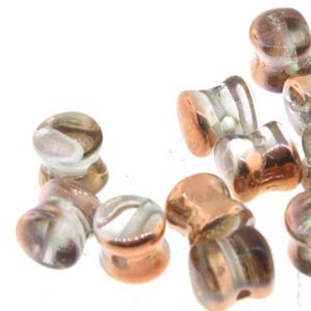 Capri Crystal Preciosa Czech Glass 4x6mm Pellet 30 Beads Plt46-00030-01710