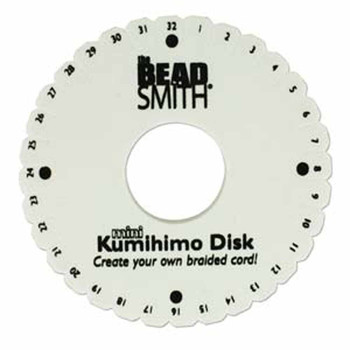 Beadsmith Kumihimo Disk 4.25 Inch disk only