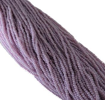 Lilac Pearl Ceylon Czech 8/0 Glass Seed Beads 12 Strand Hank Preciosa Sb8-37128