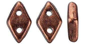"CzechMates Diamond 6.5 x 4mm Tube 2.5"" : ColorTrends: Saturated Metallic Chicory Coffee"