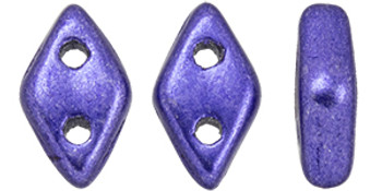 """CzechMates Diamond 6.5 x 4mm Tube 2.5"""" : ColorTrends: Saturated Metallic Ultra Violet"""