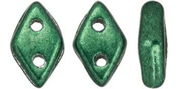 "CzechMates Diamond 6.5 x 4mm Tube 2.5"" : ColorTrends: Saturated Metallic Martini Olive"