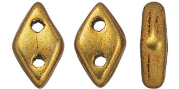 "CzechMates Diamond 6.5 x 4mm Tube 2.5"" : ColorTrends: Saturated Metallic Ceylon Yellow"