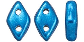 "CzechMates Diamond 6.5 x 4mm Tube 2.5"" : ColorTrends: Saturated Metallic Nebulas Blue"
