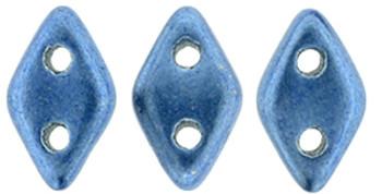 "CzechMates Diamond 6.5 x 4mm Tube 2.5"" : ColorTrends: Saturated Metallic Little Boy Blue"