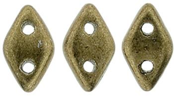 "CzechMates Diamond 6.5 x 4mm Tube 2.5"" : ColorTrends: Saturated Metallic Emperador"
