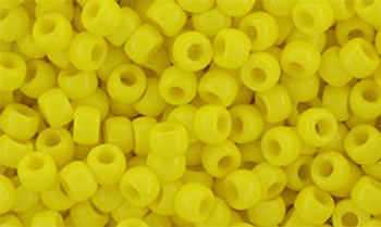Matubo Seed Bead 7/0 50 Grams Opaque Yellow