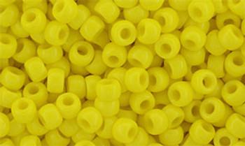 Matubo Seed Bead 7/0 50 Grams Opaque Yellow