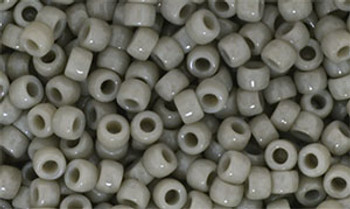 Matubo Seed Bead 7/0 50 Grams Opaque Ashen Gray