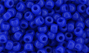 Matubo Seed Bead 7/0 50 Grams Opaque Blue