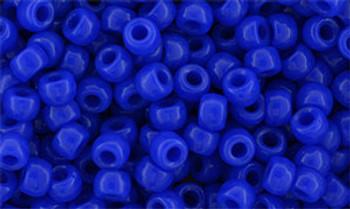 Matubo Seed Bead 7/0 50 Grams Opaque Blue