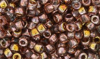 Matubo Seed Bead 7/0 50 Grams Apollo Gold