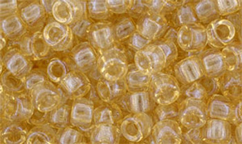Matubo Seed Bead 7/0 50 Grams Luster Transparent Champagne