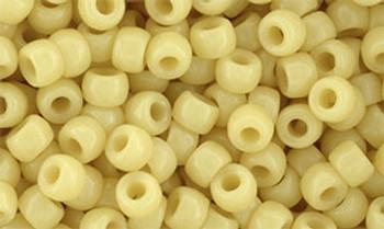 Matubo Seed Bead 7/0 50 Grams Opaque Beige