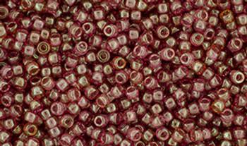 Matubo Seed Bead 11/0 Tube 2.5S  Luster Transparent Rosaline