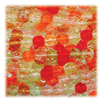 Tango Mix 48 Czech 10mm Faceted Round FirePolished Glass Beads Fpr10Mix19