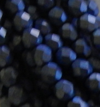 ColorTrends: Saturated Metallic Super Violet 24 Beads 6mm FirePolished Faceted Czech Glass