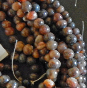 8mm sizes very Agate Pebble Beads 15 inch