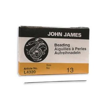 John James English Beading Needles Size 13 - Pack Of 25 Bn13