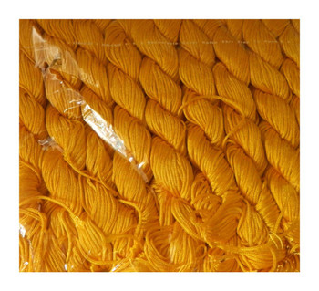 Chinese Knotting Beading Cord Goldenrod Yellow Approx 1mm 8 (25 Yard Skeins) For Crafts And Knotted Jewelry Like Shamballa Bracelets Z-G-130406104407-543