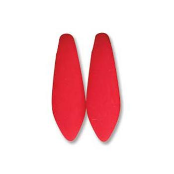 Neon Cherry 25 Czech Glass Dagger Drop Beads 5x16mm Dgr516-25144