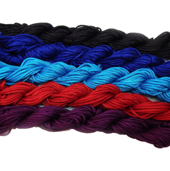 Chinese Knotting Beading Cord Mixed Approx 1.5mm 5 (12 Yard Skeins) For Crafts And Knotted Jewelry Like Shamballa Bracelets 3 Z-G-131128170537-Mix6