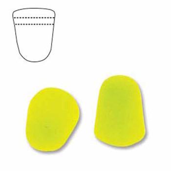 Neon Yellow 20 Czech Glass Gumdrop Beads 7 5x10mm Gum710-25121