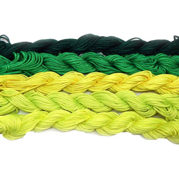 Chinese Knotting Beading Cord Mixed Approx 1.5mm 5 (12 Yard Skeins) For Crafts And Knotted Jewelry Like Shamballa Bracelets 4 Z-G-131128170537-Mix2