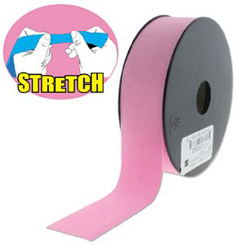 Pink Shine 30mm Fashion Flat Stretch Cord 10 Yd Spool Jewelry Spandex Lyc022