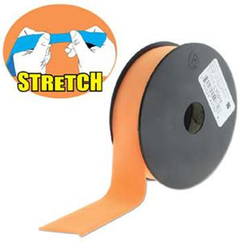 Orange 30mm Fashion Flat Stretch Cord 10 Yd Spool Jewelry Spandex