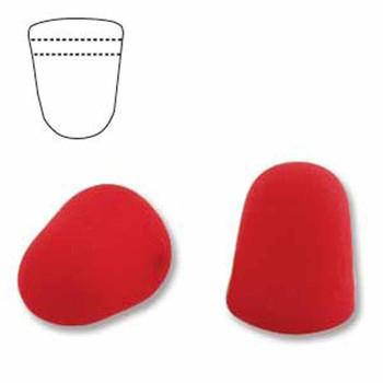 Neon Cherry 20 Czech Glass Gumdrop Beads 7 5x10mm Gum710-25144