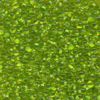 Mint Green Lined Lime Miyuki 3.4mm Fringe Seed Bead Glass Tear Drops 20 Gram Dp-9F21-Tb