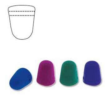 Neon Dark Mix 20 Czech Glass Gumdrop Beads 7 5x10mm Gum710-Neon2