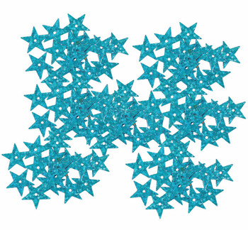 4000 Blue Star Sequin With Paillette Sewing/Embellishment Findings 14mm Rb38424