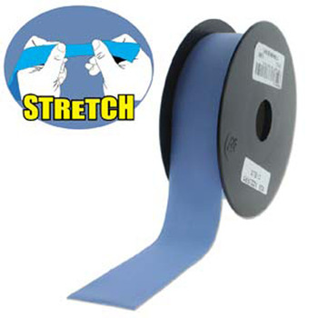 Baby Blue 30mm Fashion Flat Stretch Cord 10 Yd Spool Jewelry Spandex