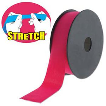 Fuchia 30mm Fashion Flat Stretch Cord 10 Yd Spool Jewelry Spandex Lyc003