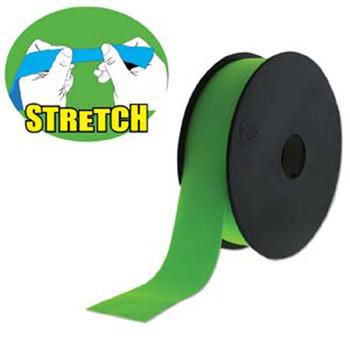 Green 30mm Fashion Flat Stretch Cord 10 Yd Spool Jewelry Spandex Lyc005