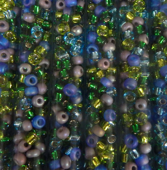 Gemstones Mix Miyuki E Beads 5/0 Seed Bead Glass 18-19 Grams 05-Mix14