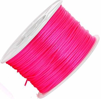 1mm Pink Orlon Jewelry Macrame Craft Cord 100 Yard Spool Rb45274