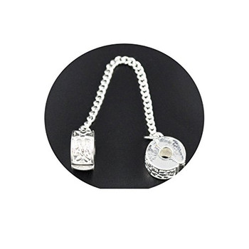 5 Safety Snake Chain With Stoper Clips Fits Europian Charm Bracelets 2 Rb07578