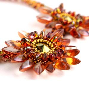 A TWIST OF SPRING - Free Jewelry Making Project complements of Bead Smith(R)
