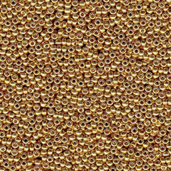 Gold 22 Grams Miyuki 8/0 Seed Bead Duracoat Galvanized 22 Gram 8-94202-Tb