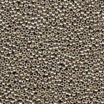 Light Smokey Pewter 22 Grams Miyuki 8/0 Seed Bead Duracoat Galvanized 22 Gram 8-94221-Tb