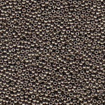 Pewter 22 Grams Miyuki 8/0 Seed Bead Duracoat Galvanized 22 Gram 8-94222-Tb