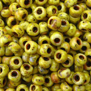 Picasso Canary Yellow Matte 22 Grams Miyuki 8/0 Seed Bead 22 Gram 8-94512-Tb